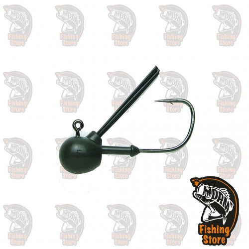 KEITECH TUNGSTEN FINE GUARD JIG HEAD 1/8Oz - DECOY HOOK *2